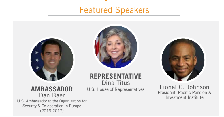Featured Speakers at lunch discussion